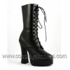 ELECTRA-1020 Black Faux Leather